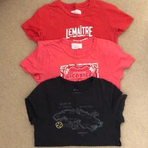 Vintage J Crew Tees set of 3